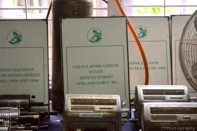 calculators in the team museum