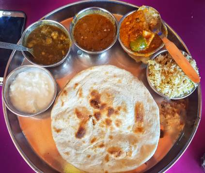 Thali at Brother's Dhaba